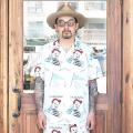 WEIRDO/ウィアード 「 Jr.WRD - S/S SHIRTS 」  シアサッカー総柄S/Sシャツ