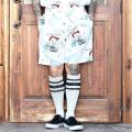 WEIRDO/ウィアード 「 Jr.WRD - SHORTS 」  シアサッカー総柄ショートパンツ