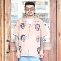 WEIRDO/ウィアード 「 NIGHT SHINE MONSTER - S/S  SHIRTS 」  リフレクタープリントS/Sシャツ