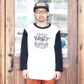 WEIRDO/ウィアード 「 KRAZY FEET - TWO TONE   T-SHIRTS 」 プリントツートンTシャツ