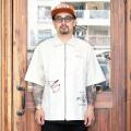 WEIRDO/ウィアード 「 PEACE LOVE - S/S  SHIRTS 」 ダンガリーツイルS/Sシャツ