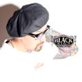 BLACK SIGN × AMERICAN WANNABE 「 British Oiled Cotton Beret 」 オイルドコットンベレー帽