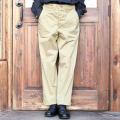 BLACK SIGN/ブラックサイン 「 Khaki Chino Officer Trousers 」 チノオフィサートラウザース