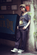 QUEEN BEE  「Q.B 40'S WORK PANTS DENIM」  40'S ワークパンツ1WASH