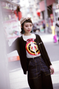QUEEN BEE  「Q.B CARDIGAN」 カーディガン
