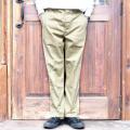 TROPHY CLOTHING/トロフィークロージング  「47 CIVILIAN TROUSERS」 47チノトラウザース