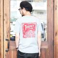 TROPHY CLOTHING/トロフィークロージング 「Union Logo LW PKT Tee」  プリントポケットTシャツ