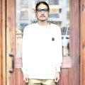 "TROPHY CLOTHING/トロフィークロージング 「 ""MONOCHROME""  PC L/S Tee 」  ポケットL/STシャツ"