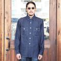 TROPHY CLOTHING/トロフィークロージング 「Signal Denim Shirt」 デニムワークシャツ