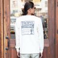 "TROPHY CLOTHING/トロフィークロージング 「""Box Logo"" OD L/S Tee」 ポケットプリントL/STシャツ"