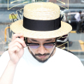 TROPHY CLOTHING/トロフィークロージング  「Boater Hat」 ボーターハット
