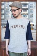 TROPHY CLOTHING/トロフィークロージング  「Classic BB Tee」  ベースボールTシャツ