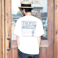 "TROPHY CLOTHING/トロフィークロージング 「 ""MONOCHROME"" Box Logo  PC Pocket Tee 」  ポケットTシャツ"
