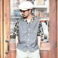TROPHY CLOTHING/トロフィークロージング  「Summer Work Vest 」  サマーワークベスト