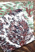 TENDERLOIN × The Stylist Japan   「Chief」 ウルフ柄チーフ