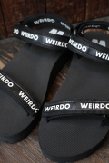 WEIRDO/ウィアード  「WRD - SANDAL」  オリジナルサンダル