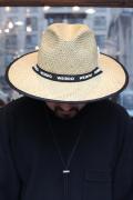 WEIRDO/ウィアード 「SILLY BEACH - HAT」  ロングブリムハット