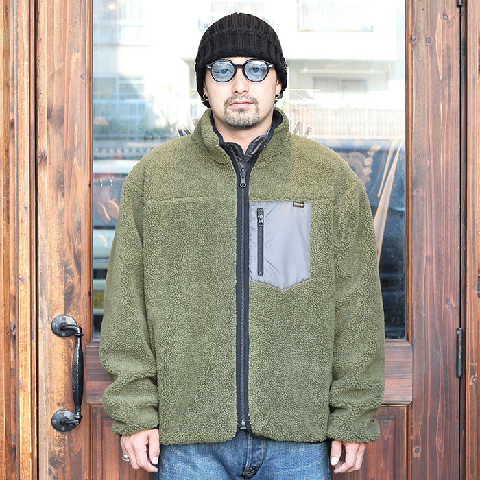 TROPHY CLOTHING/トロフィークロージング  「2Face Mountain Jacket」  リバーシブルフリースジャケット