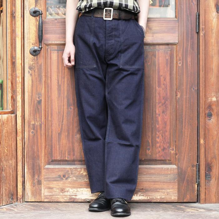 TROPHY CLOTHING/トロフィークロージング  「 Mil Denim Baker Pants 」  ミルデニムベイカーパンツ
