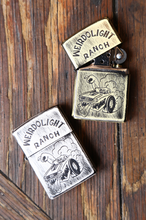 WEIRDO/ウィアード   「WEIRDOLIGHT RANCH - ZIPPO」  ZIPPOライター
