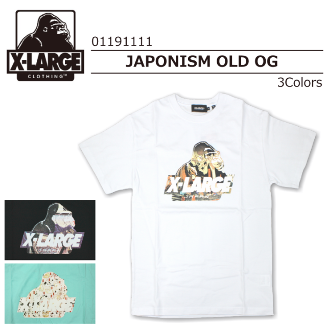 X-LARGE/エクストララージ S/S TEE JAPONISM OLD OG