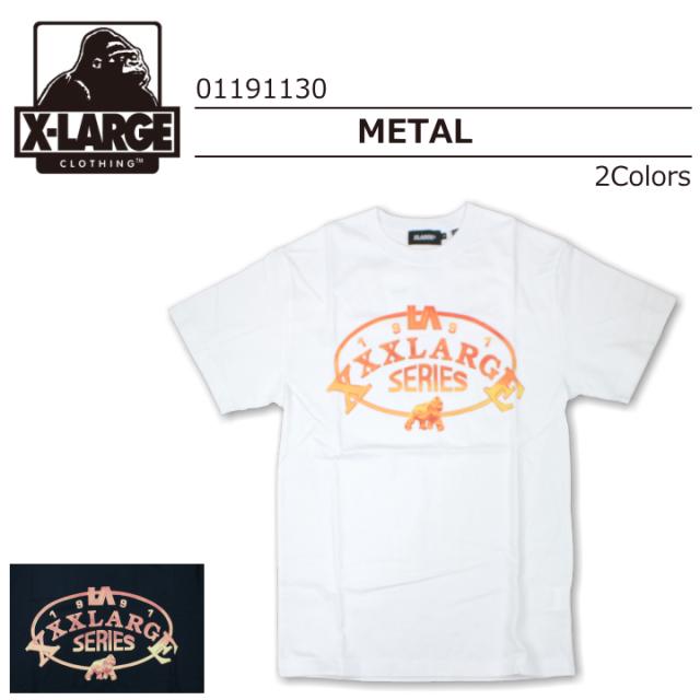 X-LARGE/エクストララージ S/S TEE  METAL