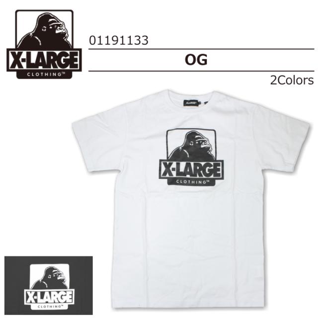 X-LARGE/エクストララージ S/S TEE  OG