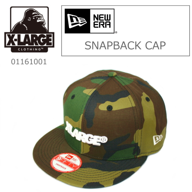 X-LARGE/エクストララージ NEW ERA SNAPBACK CAP
