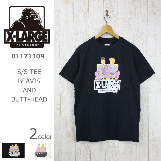 X-LARGE/エクストララージ S/S TEE BEAVIS AND BUTT-HEAD