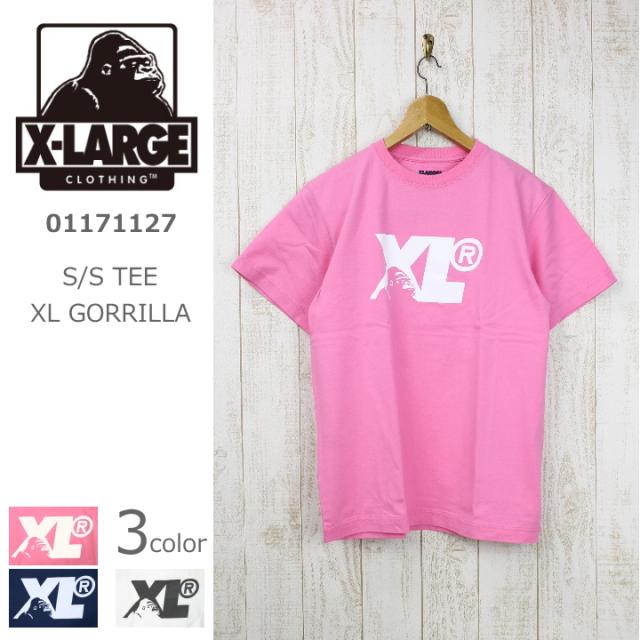 X-LARGE/エクストララージ S/S TEE XL GORRILLA