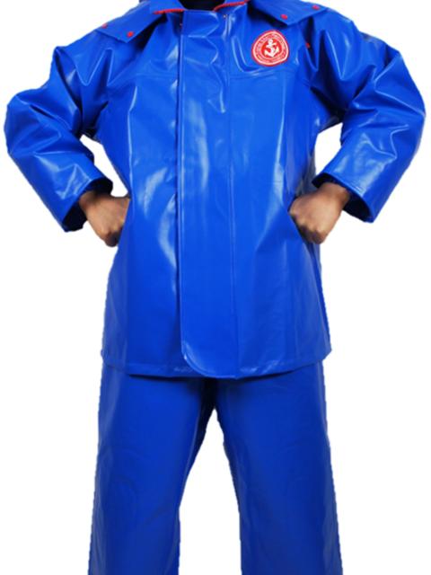 【超耐寒・耐油新素材】ラグライトジャンパー/ブルー