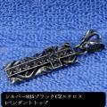 tブラックCZクロスバータイプPT01