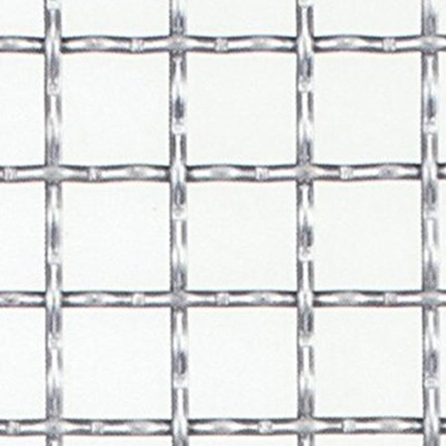 亜鉛引き クリンプ金網 網目:15mm 開孔率:81.7%  線径:1.6mm 【メッシュ 金網 送料無料】