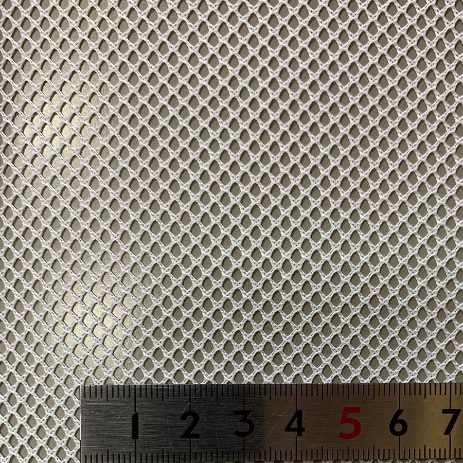 スペーサーネット ポリエステル 耐熱150℃|耐酸性 菱目 #1000 目開き:1.8mm 糸径:0.6mm 厚み:0.6mm サイズ:1000mm×1m
