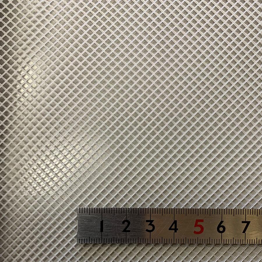 スペーサーネット PP 耐熱90℃|耐薬品性 菱目 #316PP 目開き:2mm 糸径:0.6mm 厚み:1.2mm サイズ:1020mm×1m