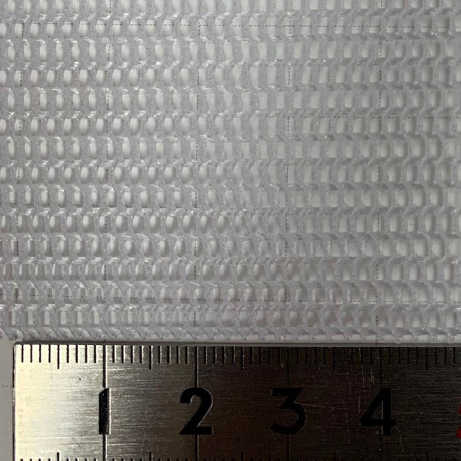 スペーサーネット ナイロン 耐熱110℃|耐酸性  #8003 目開き:1.5×2mm 糸径:0.5/1.0mm 厚み:0.9mm サイズ:920mm×1m