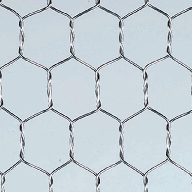 亜鉛亀甲金網 目開き:10mm #20 線径:0.63mm 【メッシュ 金網 送料無料】