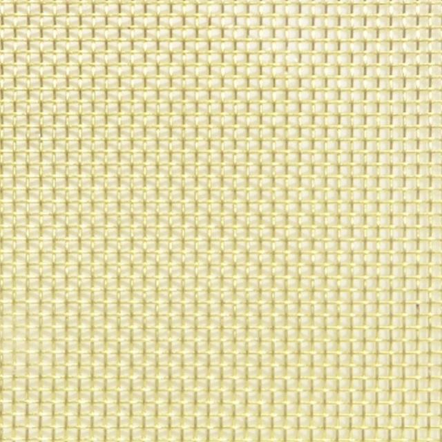 真鍮メッシュ 真鍮平織金網 目開き:5.05mm メッシュ:4 線径:1mm サイズ:910mm×1m 【メッシュ 金網 送料無料】