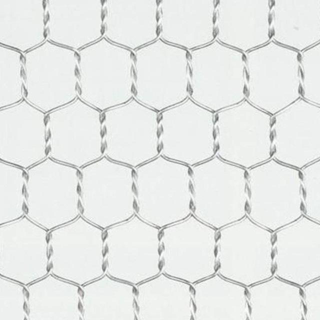 ステンレス亀甲金網 目開き:10mm #20 線径:0.8mm 幅:910mm 【メッシュ 金網 送料無料】