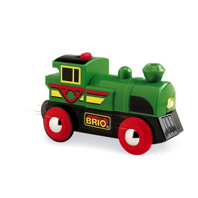 BRIO バッテリーパワー機関車
