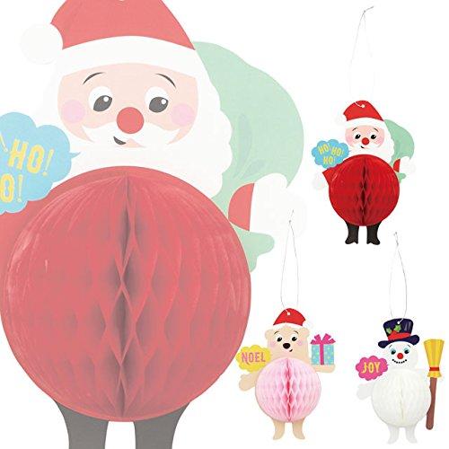 ポンポンオーナメント クリスマスカード