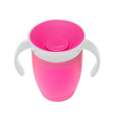 munchkin マンチキン ハンドル付ミラクルカップ ピンク