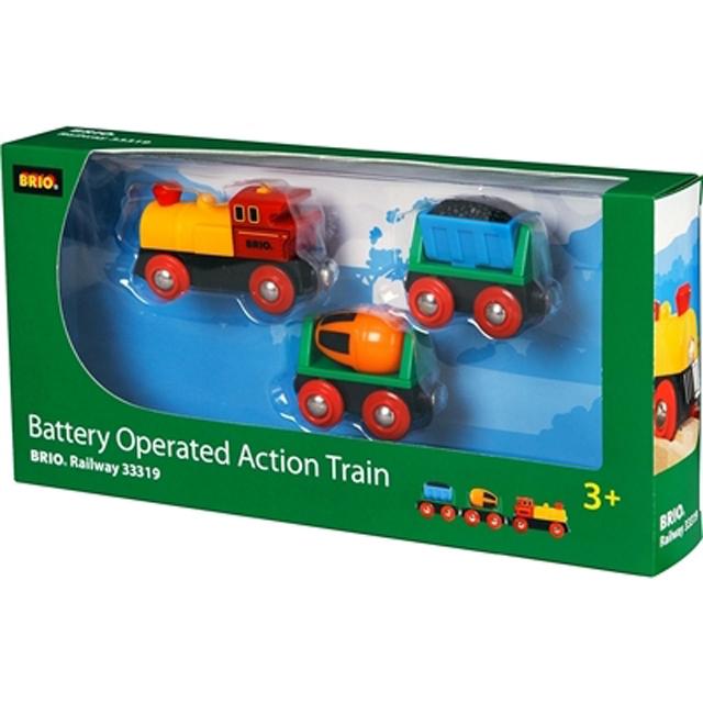 バッテリーパワーアクショントレイン