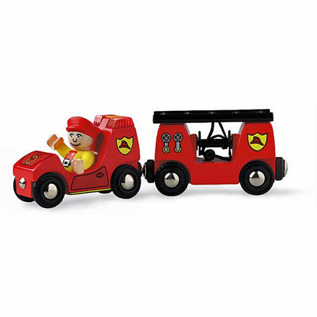 ブリオ ライト&サウンド付消防車