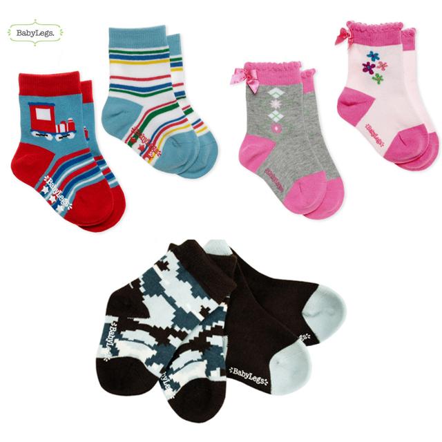 【DM便送料無料】Baby Legs(ベビーレッグス) socks/靴下 2足入 0-12ヶ月