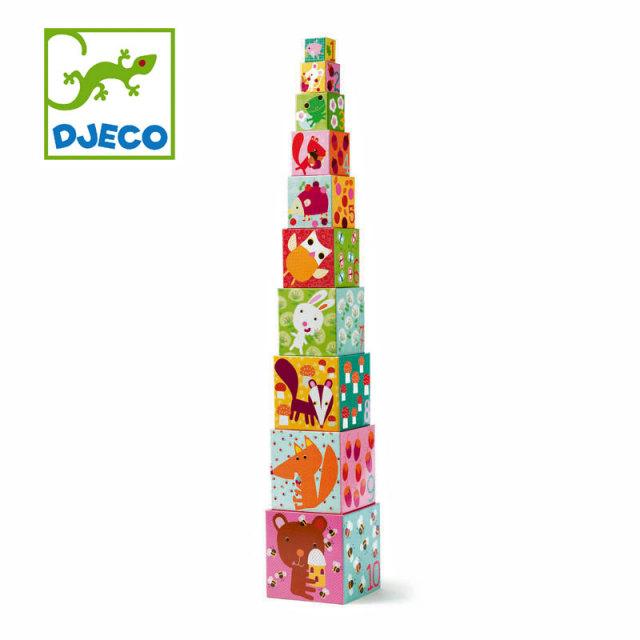 DJECO(ジェコ) 10フォーレストブロックス