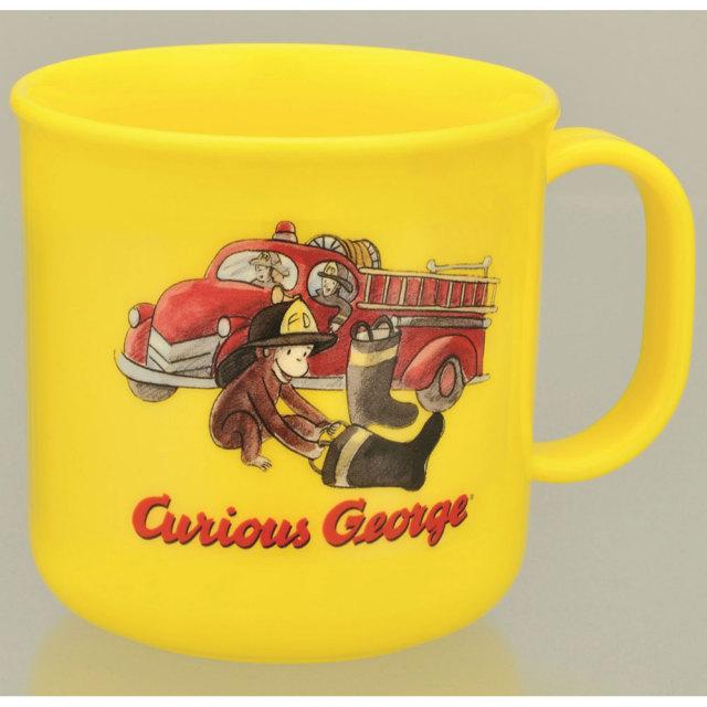 おさるのジョージ ランチコップ(消防車)