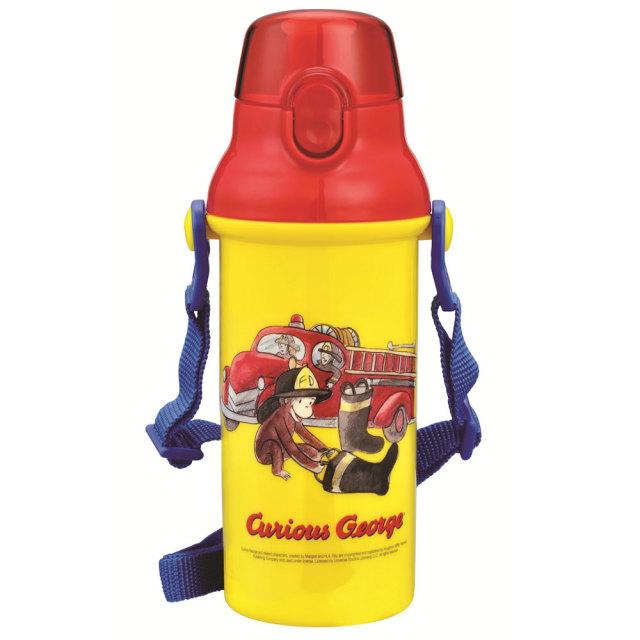 おさるのジョージ 水筒(消防車)