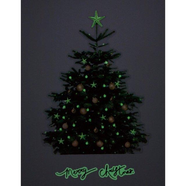 クリスマスウォールステッカー