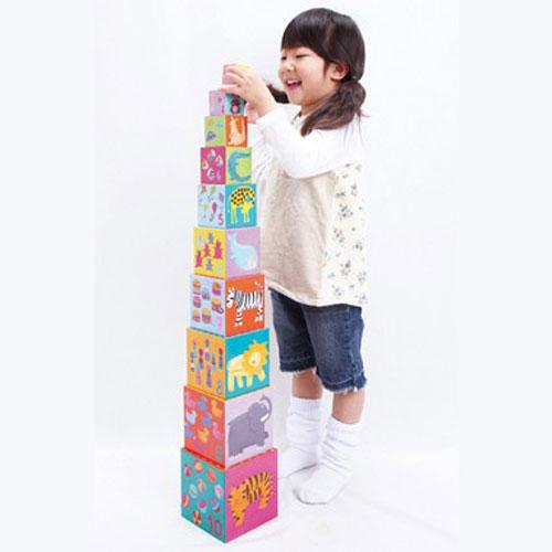 DJECO(ジェコ) 10ファニーブロックス